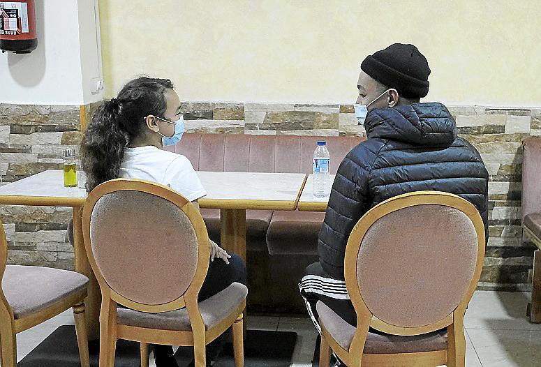 Palma reportaje de angie tema inmigracion foto Miquel A Cañe