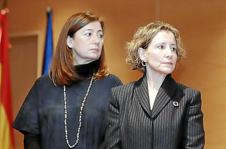 PALMA. POLITICA. La delegada del Gobierno en Balears, Aina Calvo se estrenó ayer en el cargo.