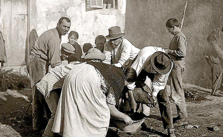 MANACOR - ANTIGUA IMAGEN DE 1918 DE SES MATANCES EN LA