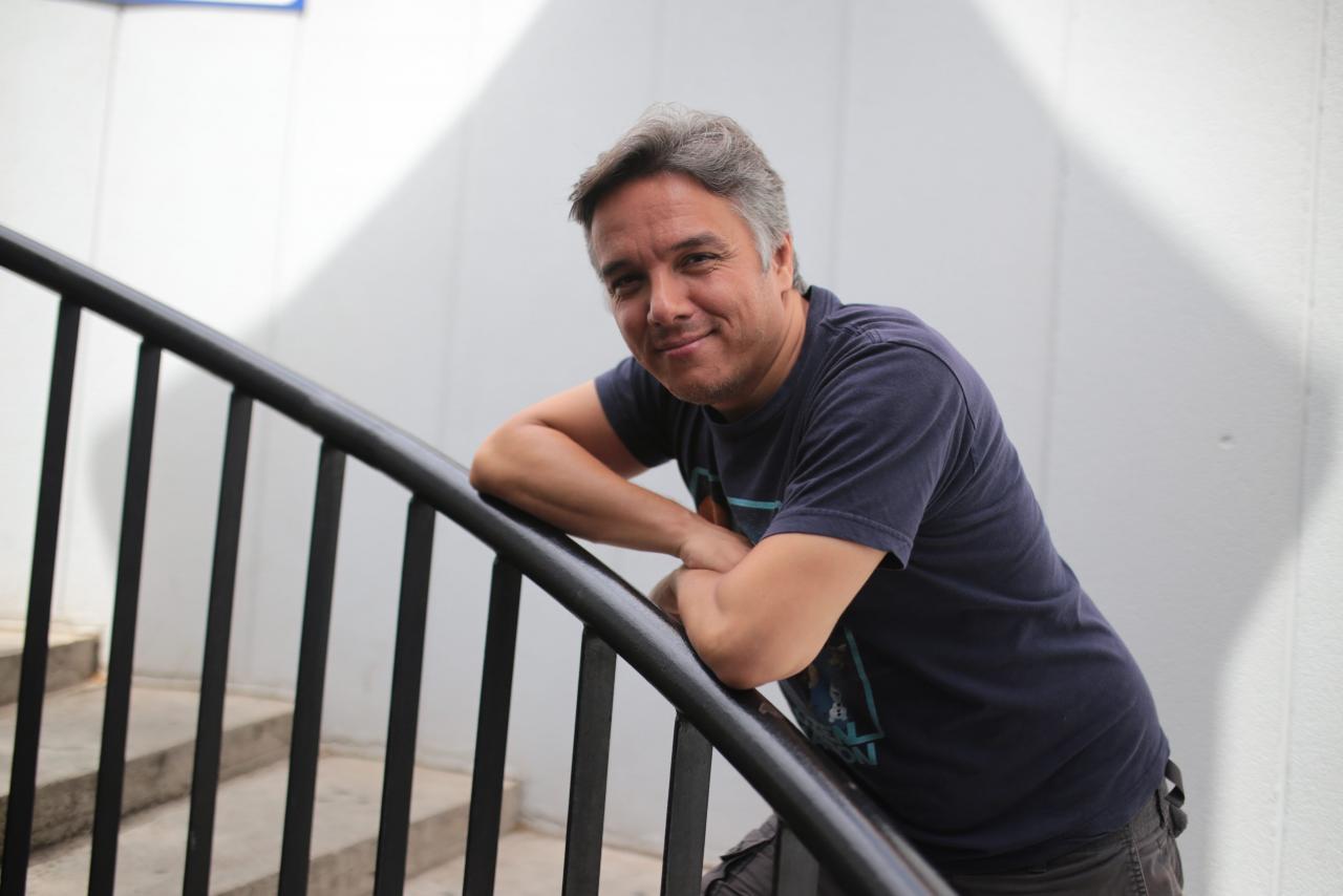 PALMA. CINE. Daniel Peixe, animador de Walt Disney Studios, posó ayer en Palma.