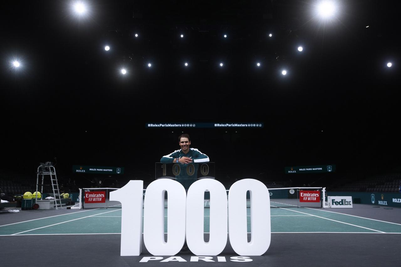 Paris Masters 2020 tennis tournament
