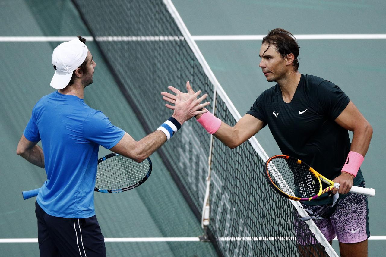 Nadal se impone a Thompson y se cita con Carreño en cuartos de final de  París