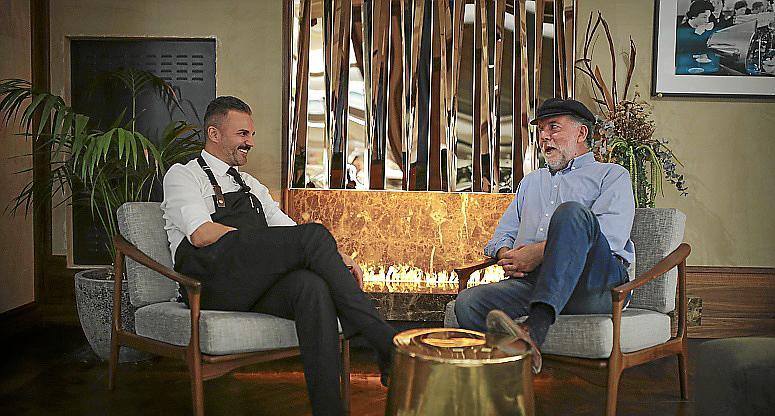 Palma entrevista para especiales a santi taura foto Miquel A C
