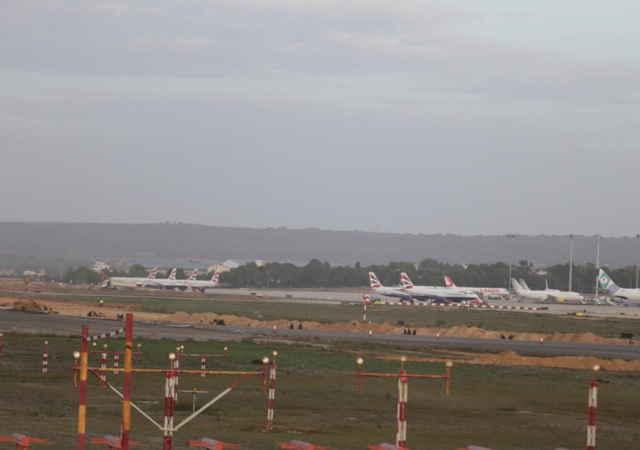 British Airways elige Son Sant Joan para estacionar 30 aviones por falta de actividad