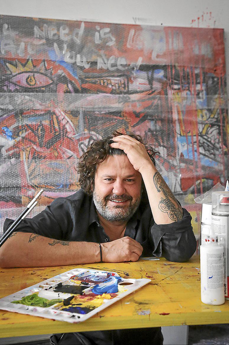 Palma entrevista a domingo zapata foto Miquel A Cañellas Cane