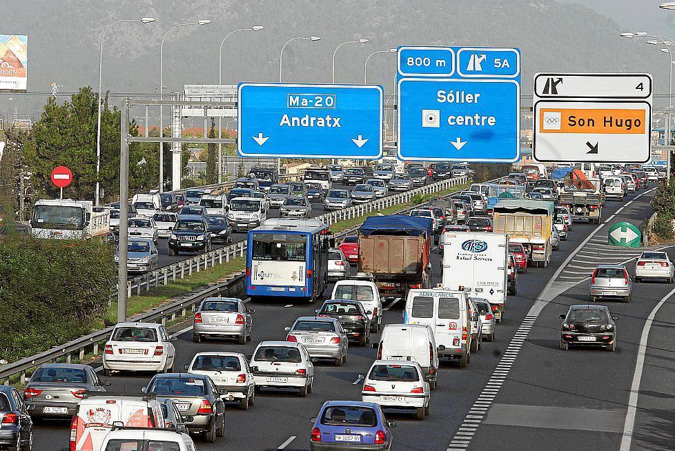 Indignación entre los conductores por la reducción de la velocidad en la vía de cintura