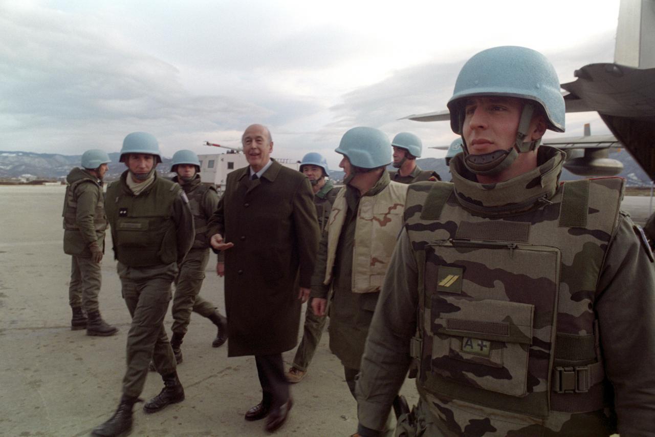 Former French President Valery Giscard d'Estaing dies