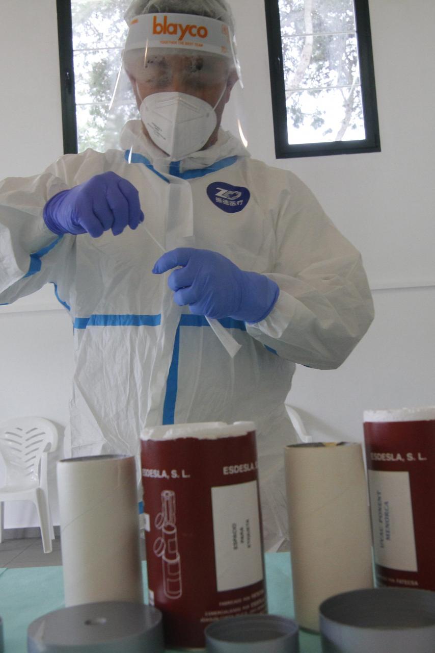 Dónde se puede realizar una PCR gratuita en la península si es residente en Baleares