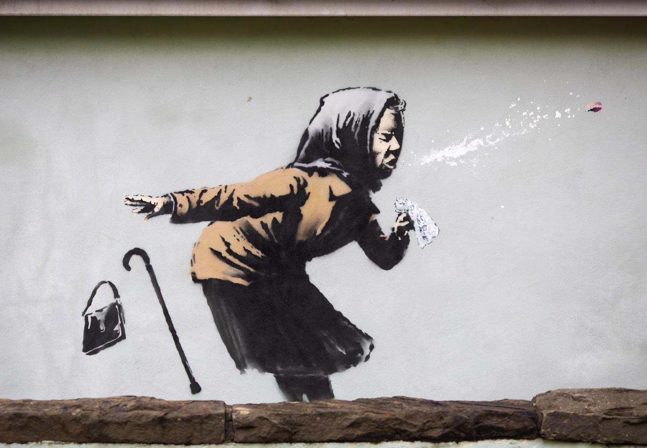 New Banksy artwork in Bristol