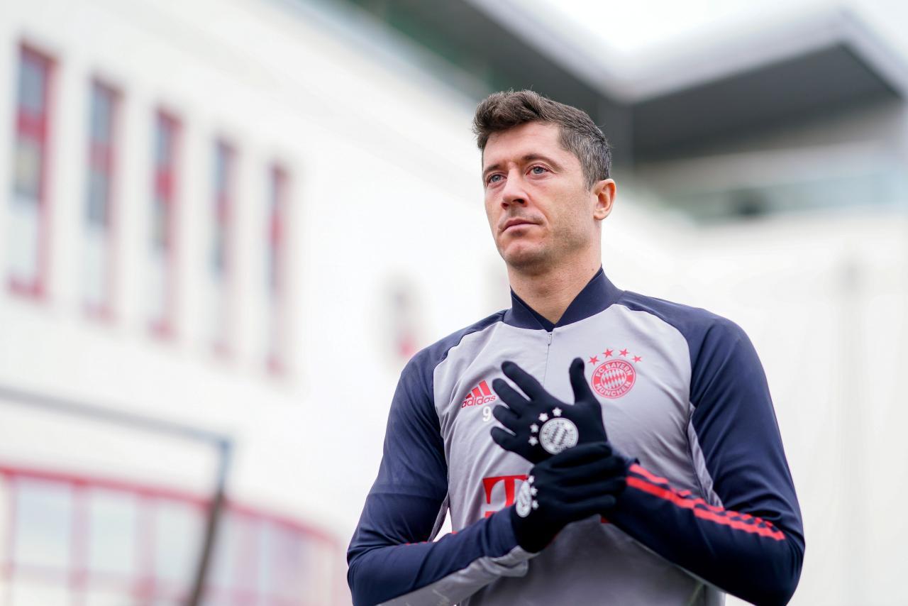 Champions League - Bayern Munich Training