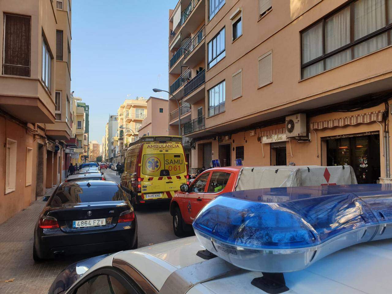 Accidente en palma