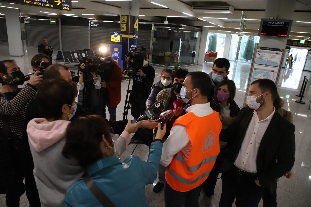 palma 1º dia pruebas pcr aeropuerto foto cañellas