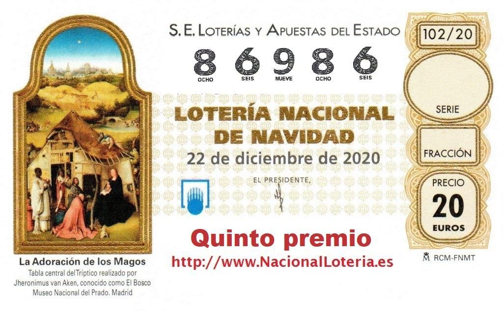 Santa Eulària vende un quinto premio, el 86.986