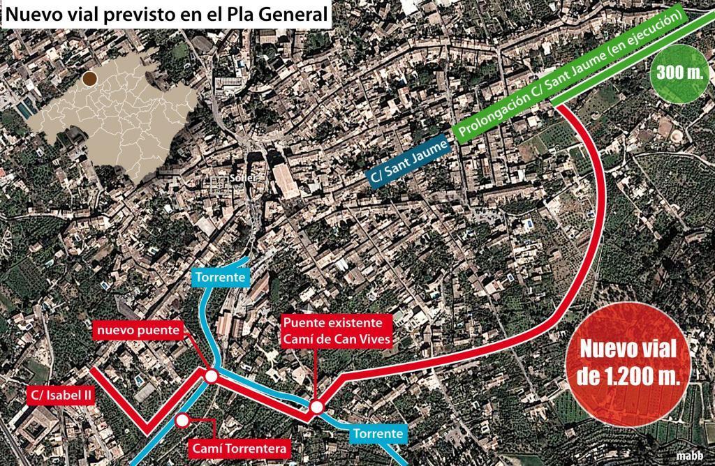Ya hay movimiento vecinal contra el nuevo vial proyectado por el Ajuntament