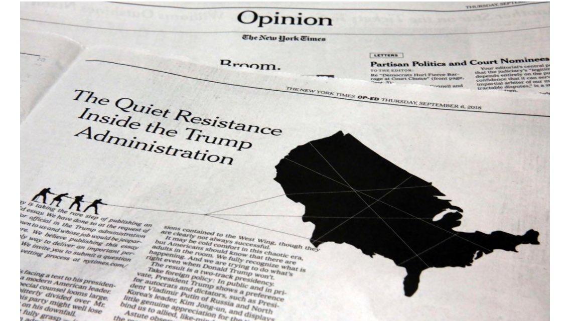 MENORCA. COMUNICACION. Resistencia visual a Trump. El menorquín Pablo Delcan es el autor de la obra