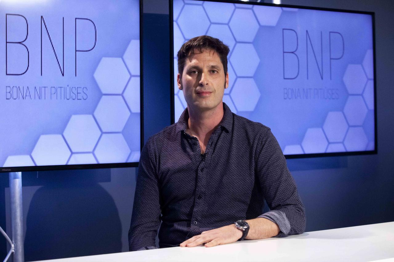 David Fernández, delegado del SIMEBAL y médico del 061 ayer en el programa BNP.