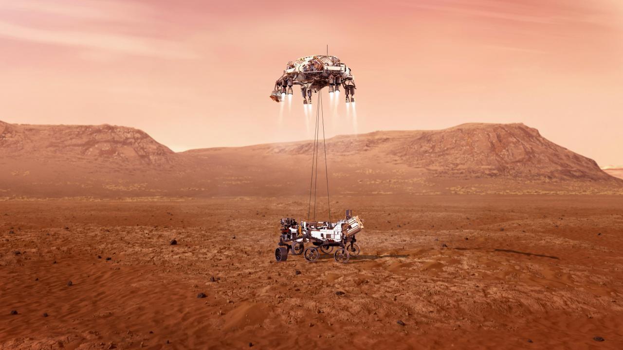 El Perseverance alista aterrizaje a ciegas en Marte tras viaje de siete meses