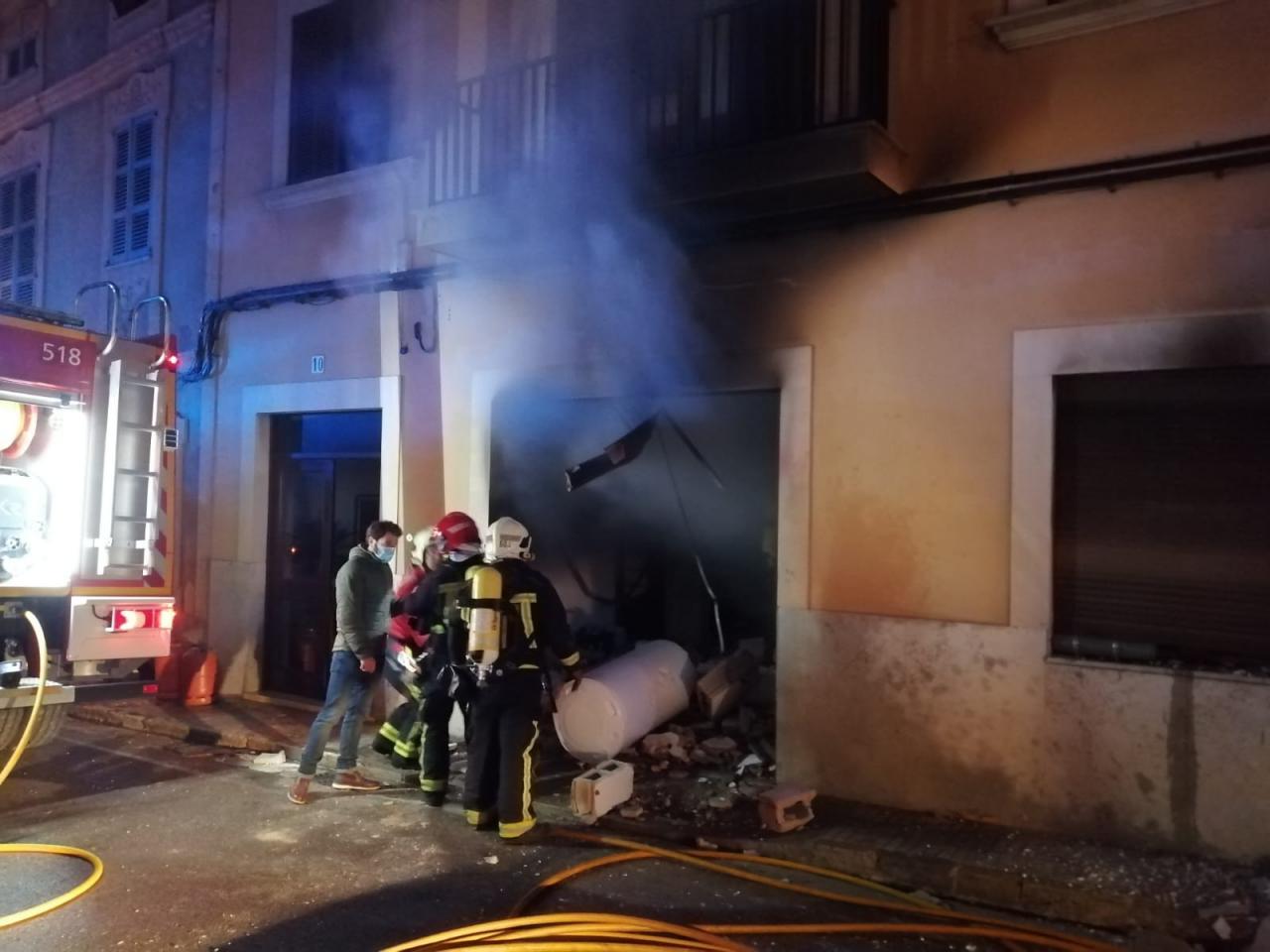 explosión en Algaida