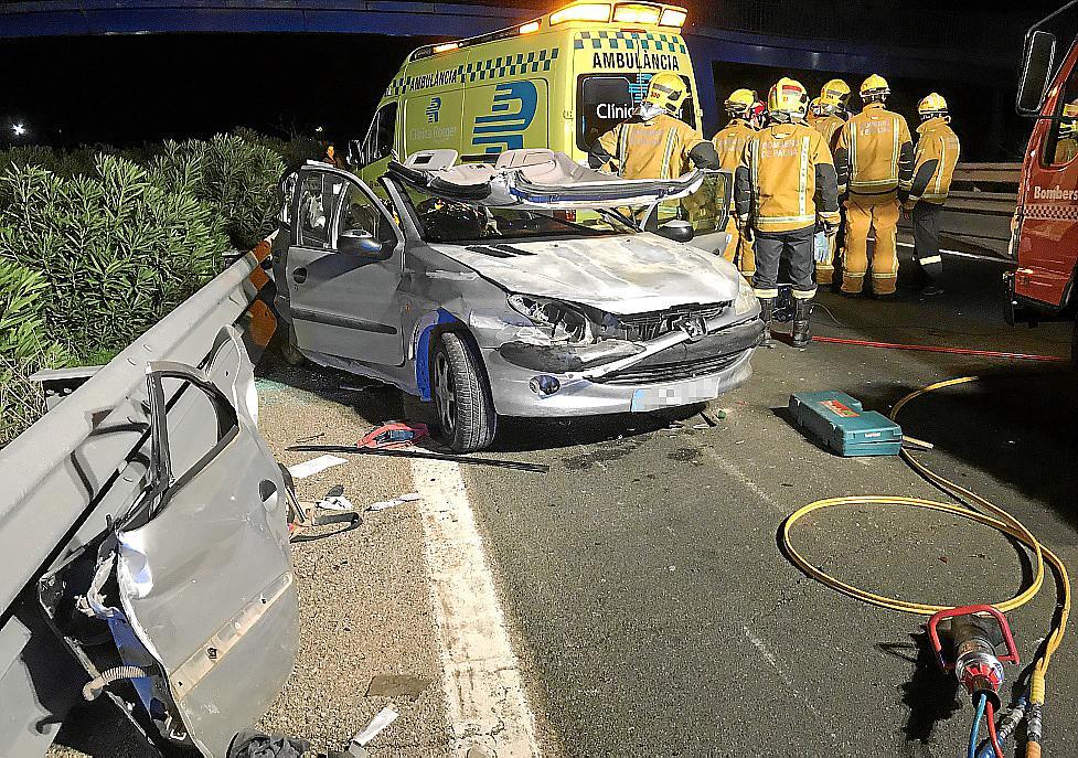 Condenado por provocar un accidente mortal en la autopista de Llucmajor
