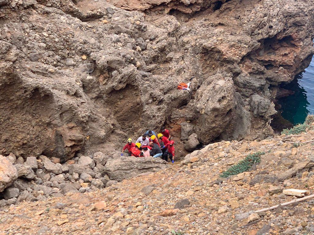 Herido un hombre al despeñarse desde 20 metros en Sa Foradada