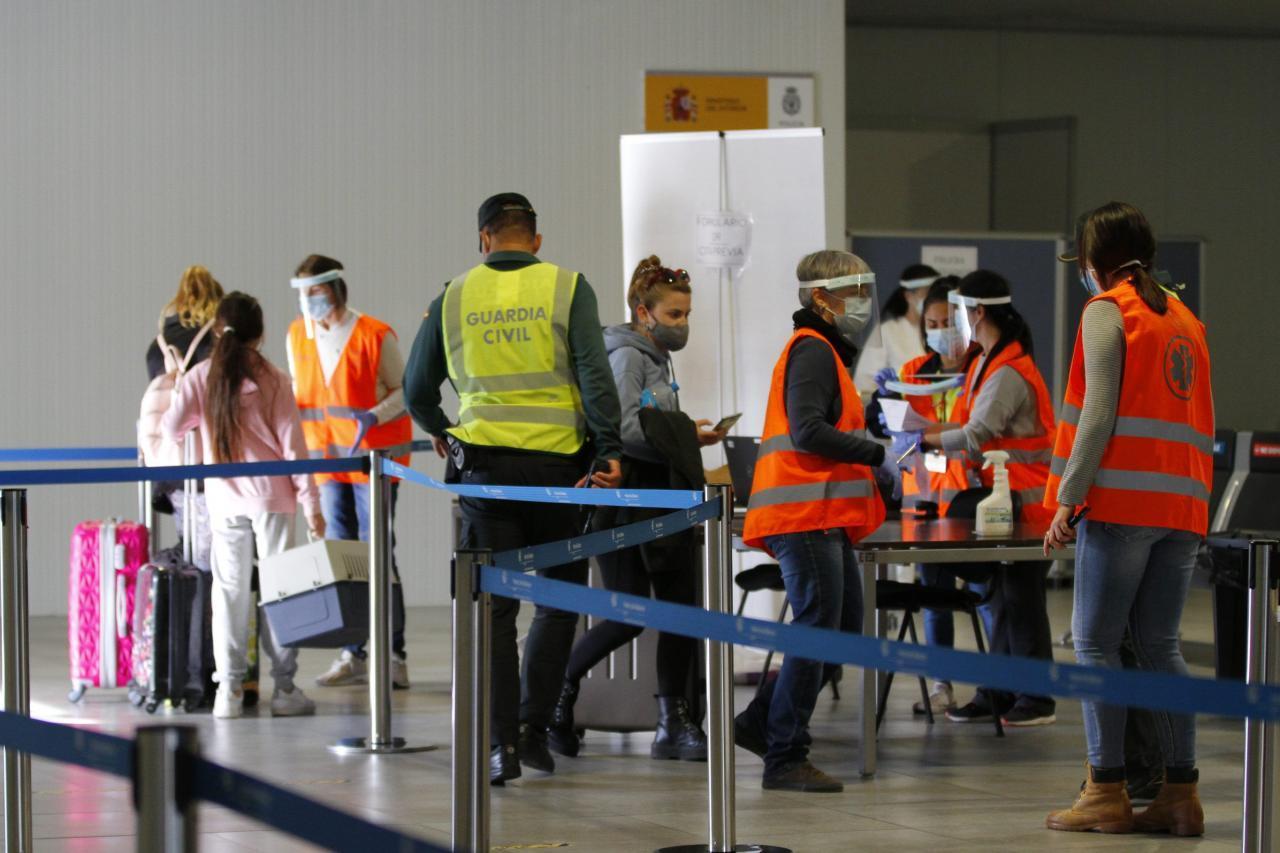 PCR a la llegada al aeropuerto de Menorca