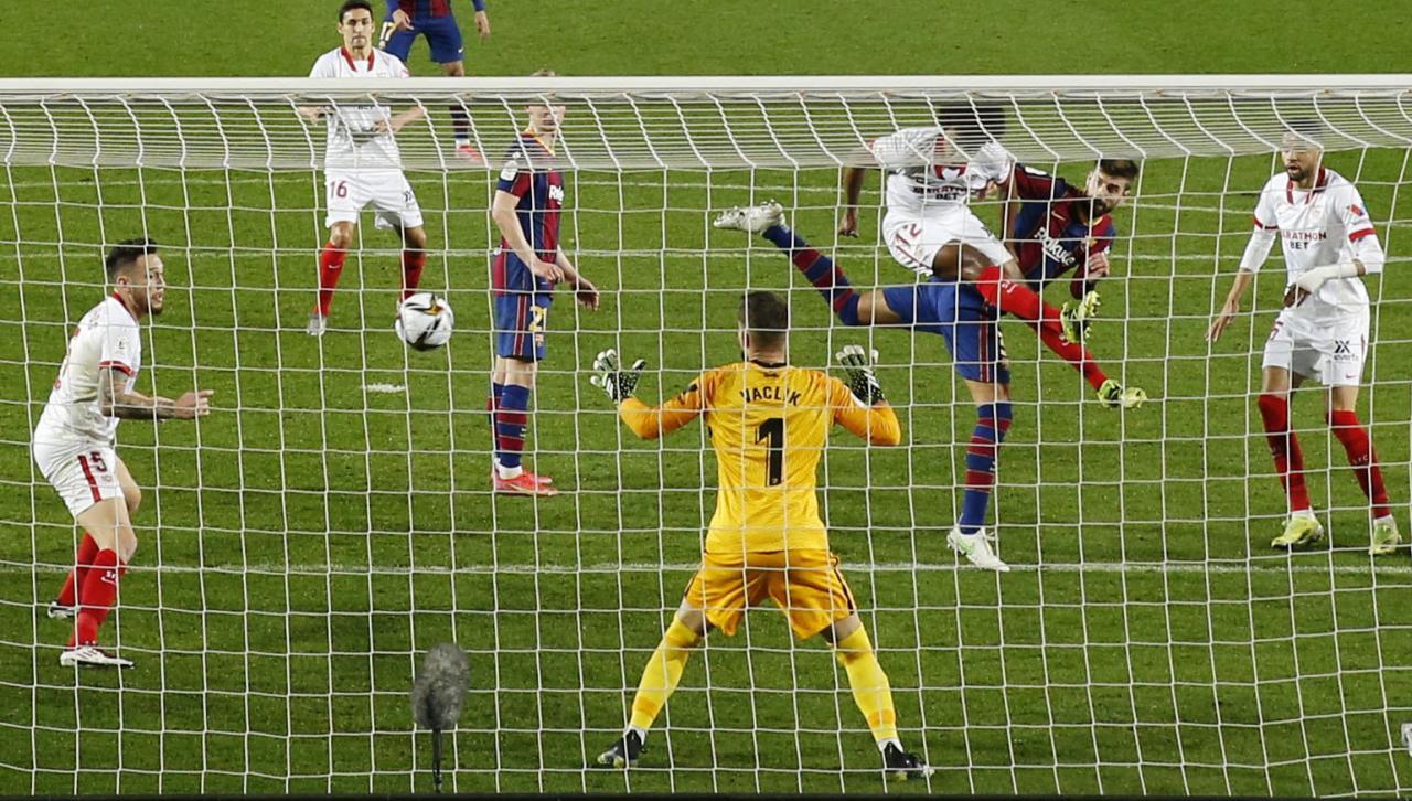 Copa del Rey - Semi Final Second Leg - FC Barcelona v Sevilla