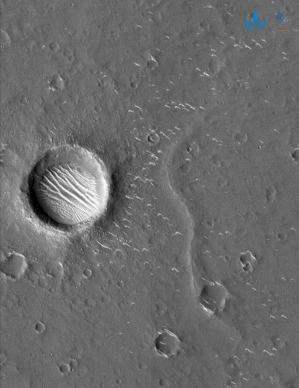 CNSA images of Mars surface