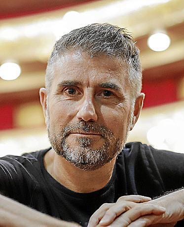 PALMA. TEATRO. El nuevo director del Teatre Principal de Palma, Josep R. Cerdà .