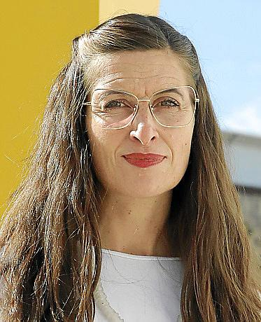 PALMA. MUSEOS. La nueva directora de Es Baluard, Imma Prieto , se presentó ayer ante los medios.