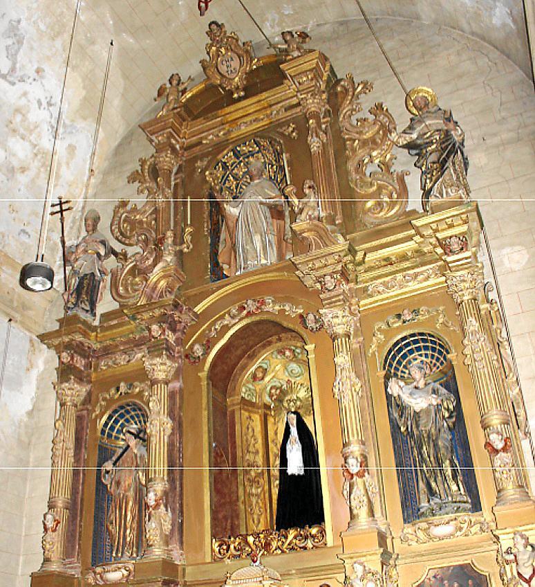 Retablo de la Mare de Déu de la Soledat en el convento de Santa Maria