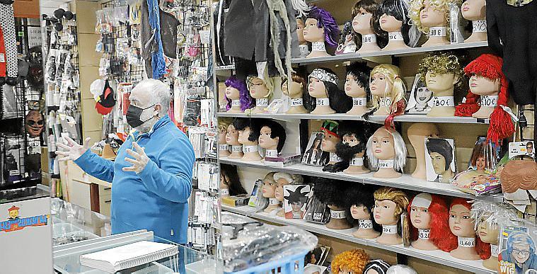 palma cierre por jubilacion fiesta carnaval foto morey