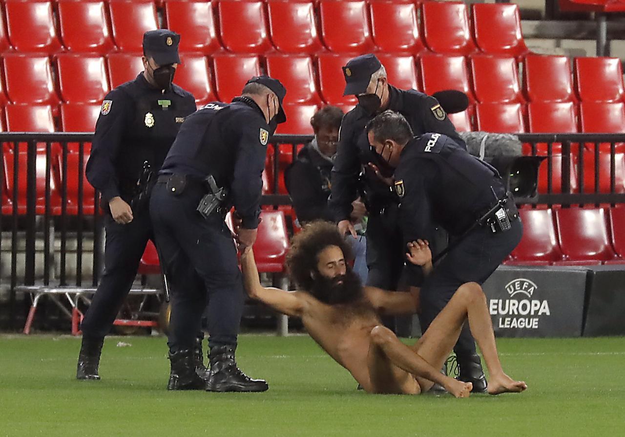 Europa League - Quarter Final First Leg - Granada v Manchester United