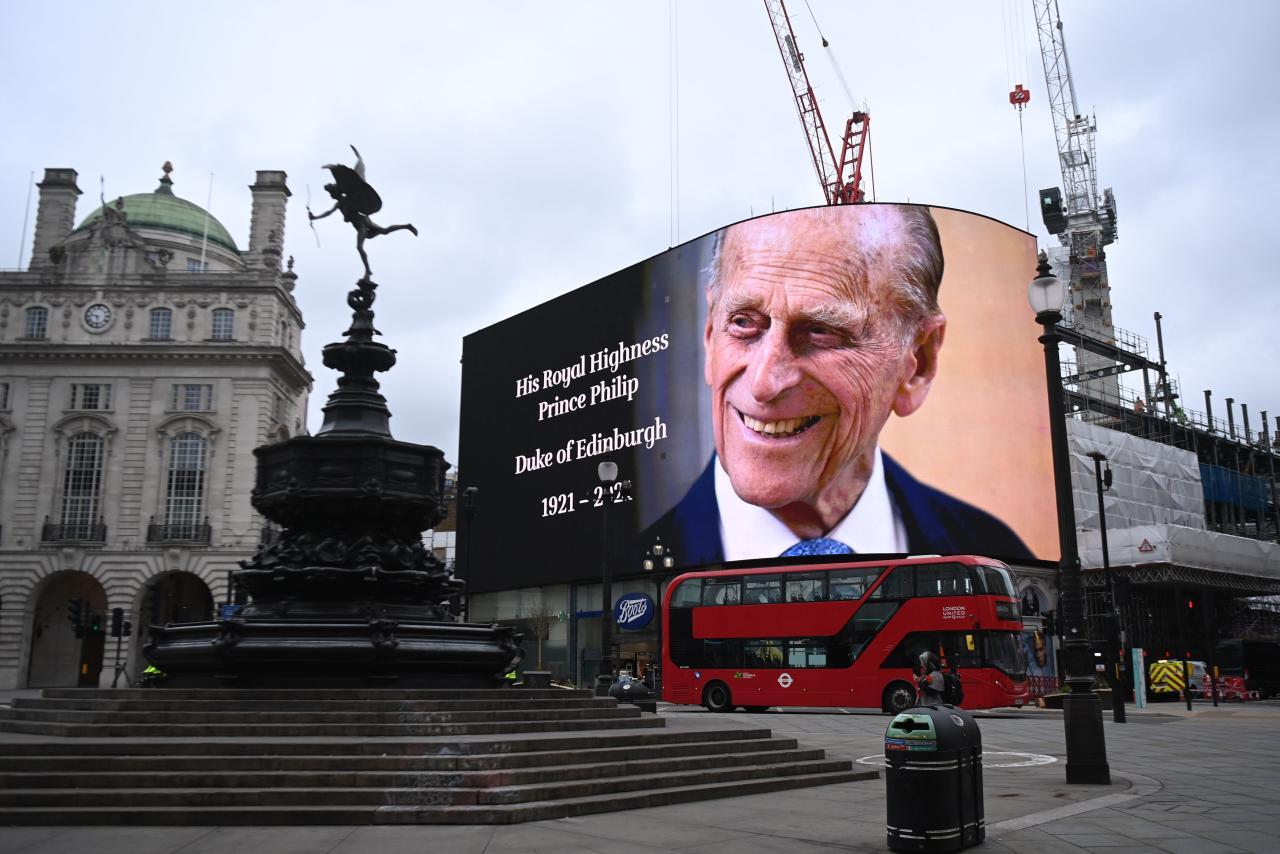 Reino Unido comienza la despedida del duque de Edimburgo con salvas  nacionales