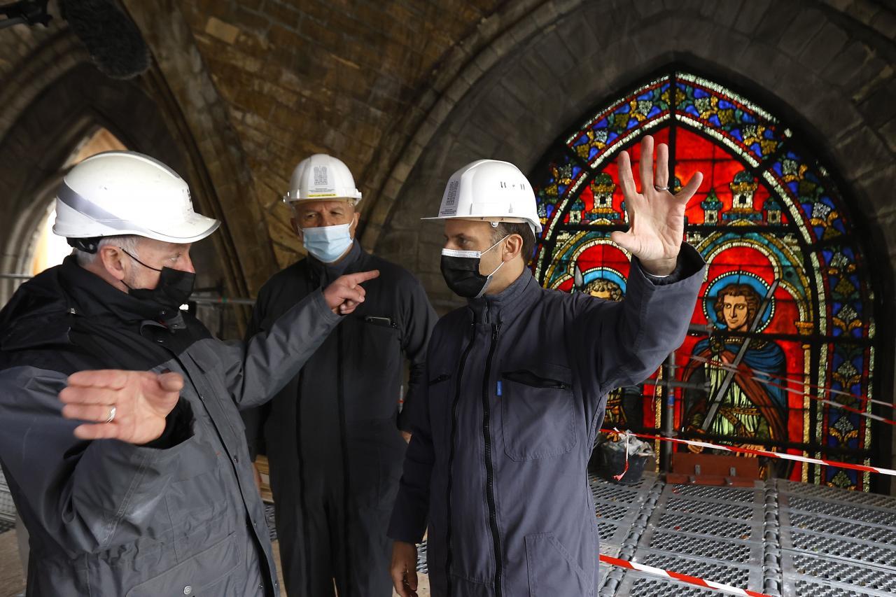 Second anniversary of the Notre-Dame de Paris Cathedral blaze