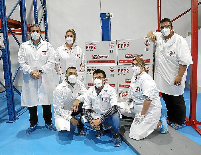 fábrica de mascarillas FPP2FOTO:PERE BOTA
