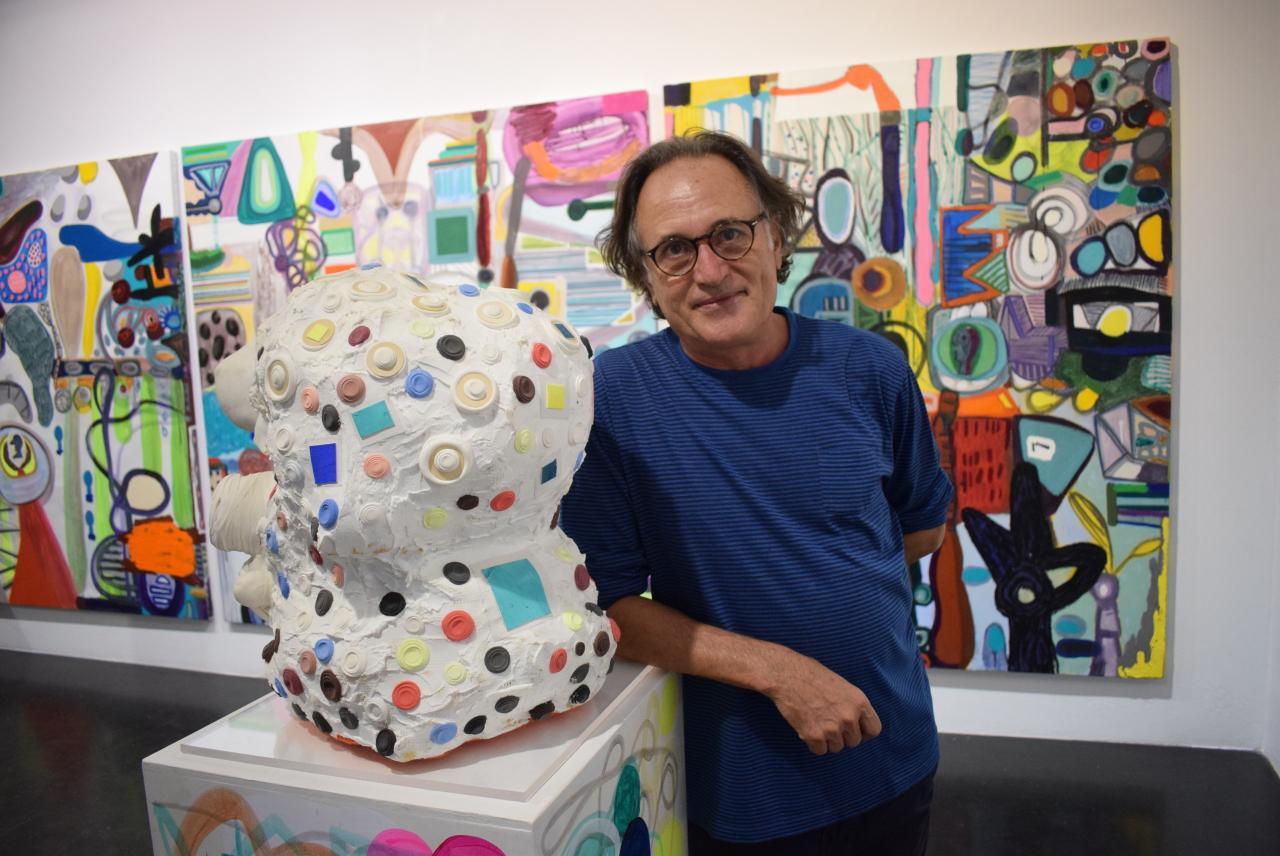 EXPOSICION DE RAFA FORTEZA EN LA Apertura Madrid Gallery Weekend 2020