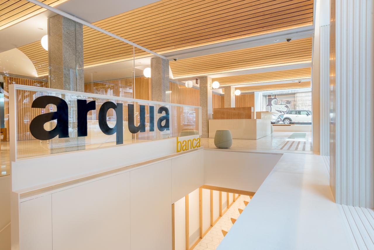 PALMA. BANCA. Arquia, la banca de los arquitectos, estrena nueva sede en Palma.