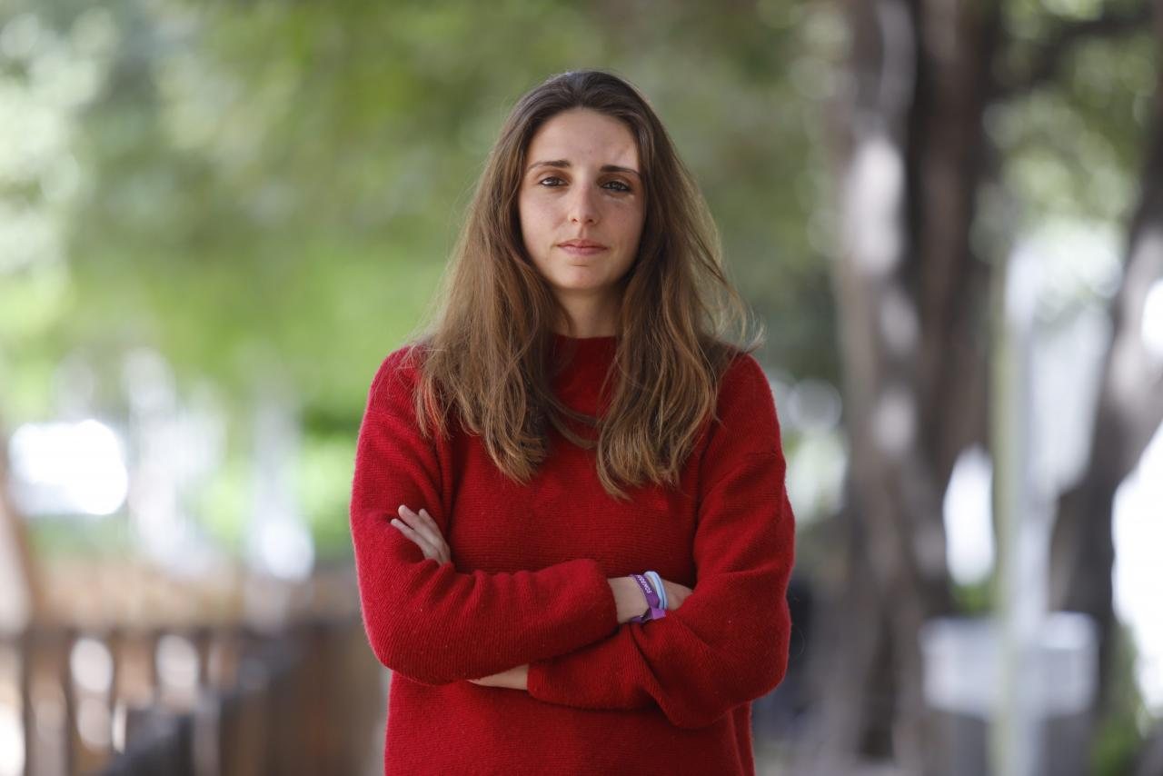Lucía Muñoz, diputada de Unidas Podemos por Baleares