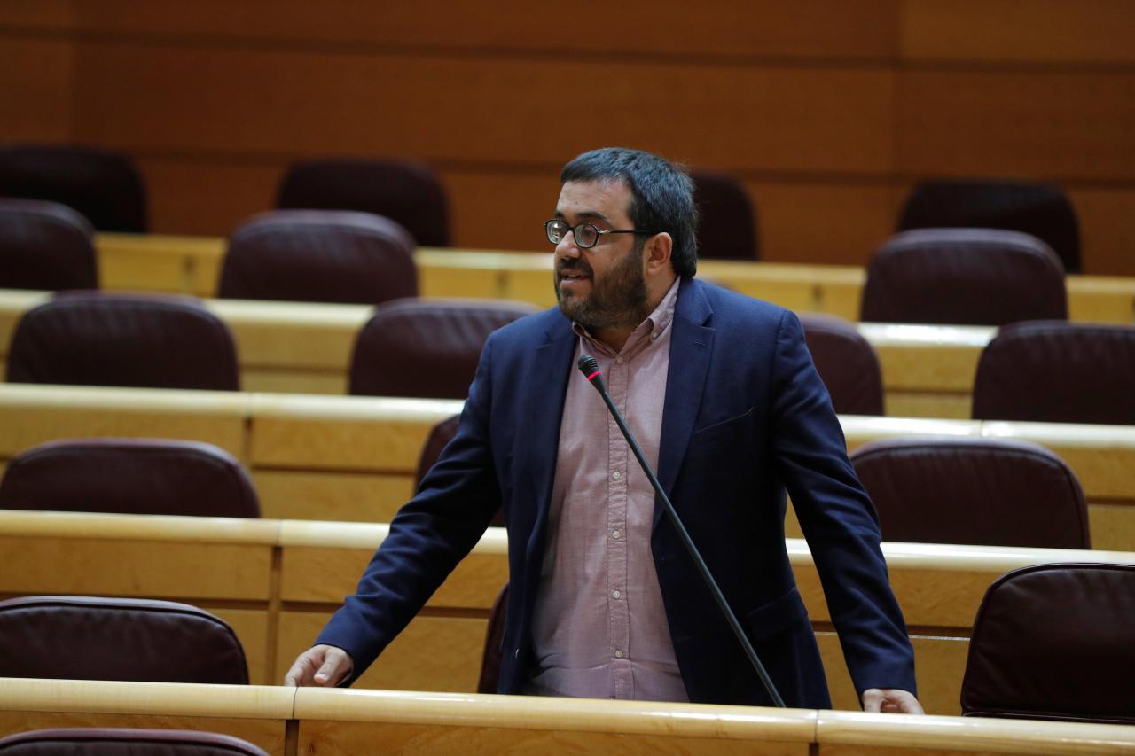 El senador por Mallorca, Vicenç Vidal