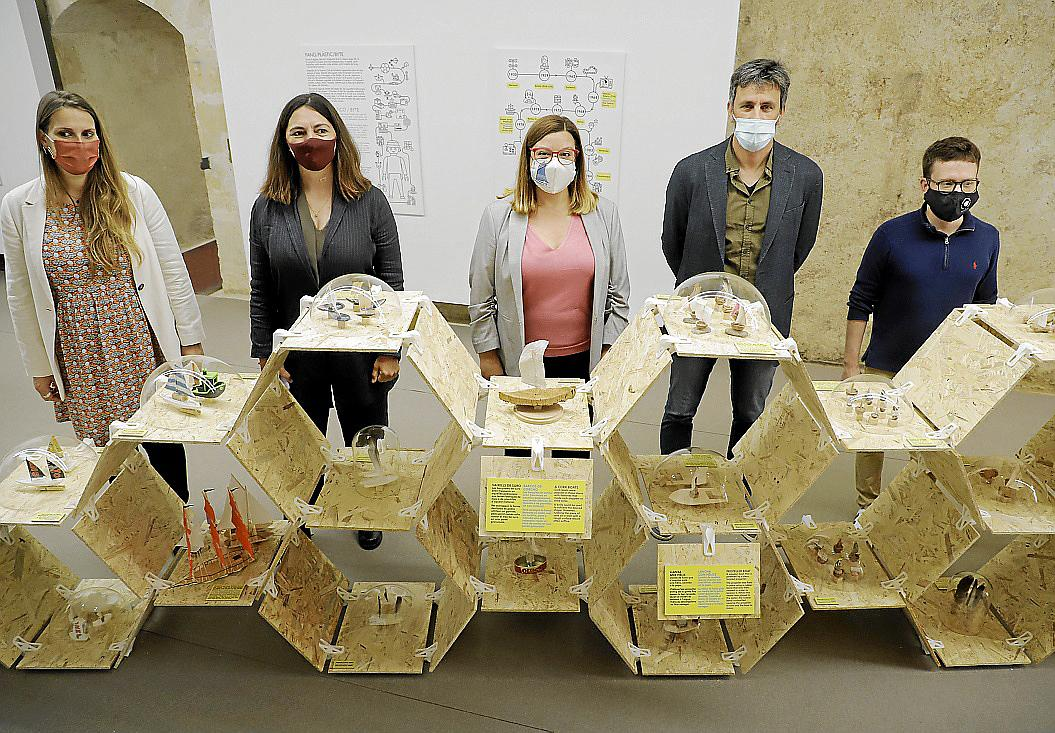 El Museu Marítim de Mallorca alberga la exposición 'Mestres d'aixa de butxaca'