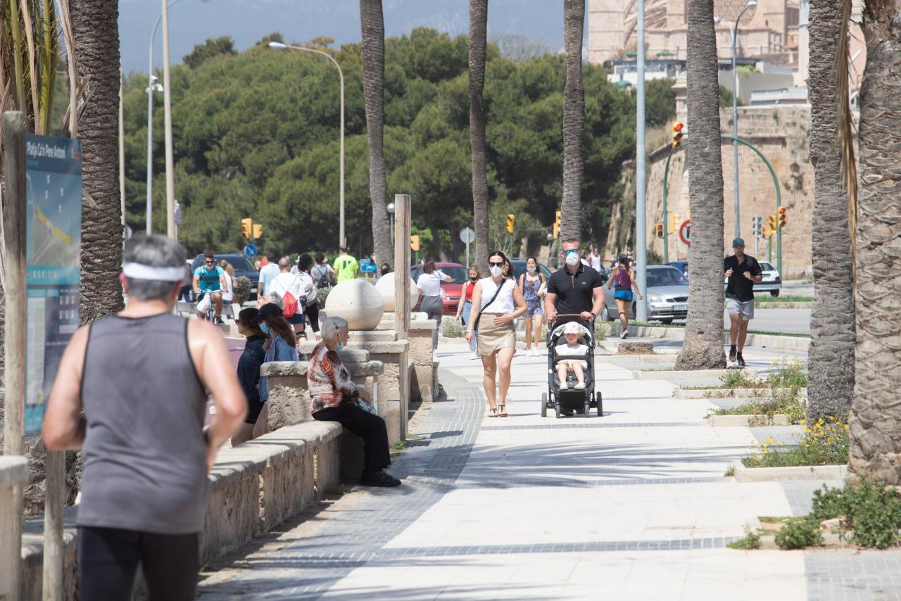 Fin del estado del alarma en Baleares: la vida sigue casi igual