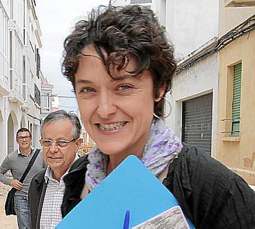 CIUTADELLA - PILAR CARBONERO DE PARTIDO POPULAR DE CIUTADELLA.