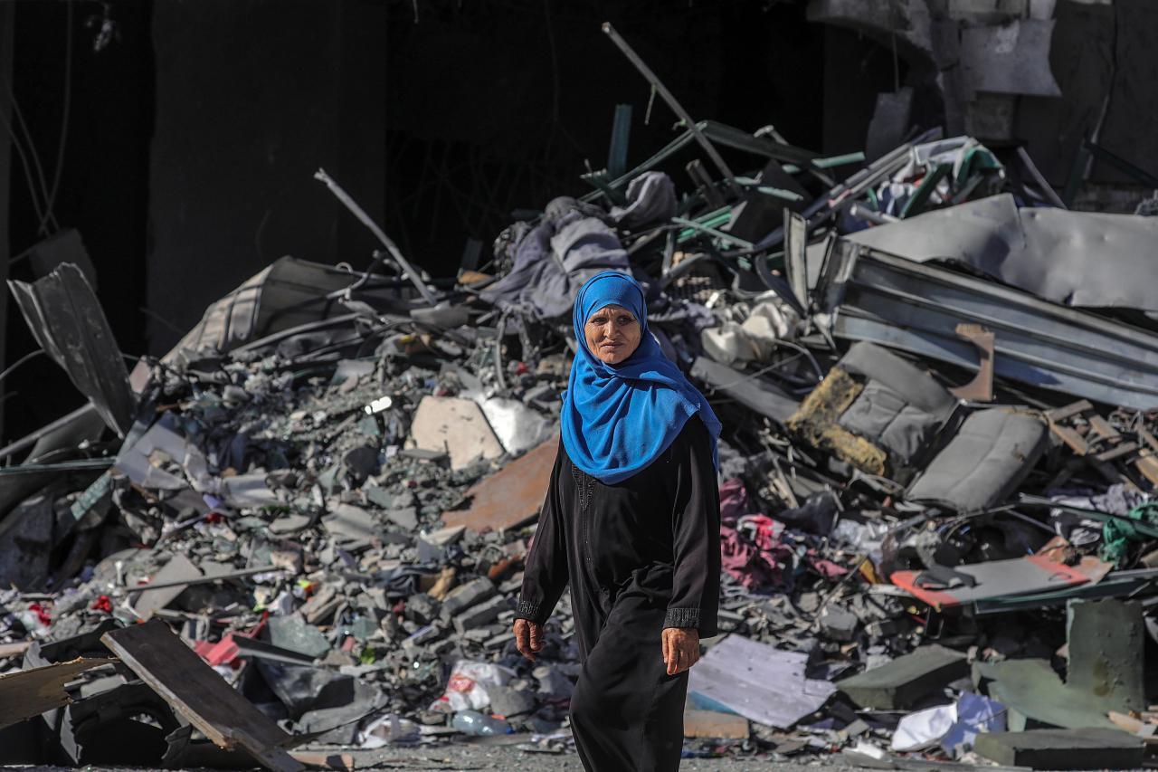 Israeli air strikes in Gaza