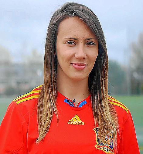 PALMA. FUTBOL FEMENINO. Virginia Torrecilla, jugadora de la Selección Española.