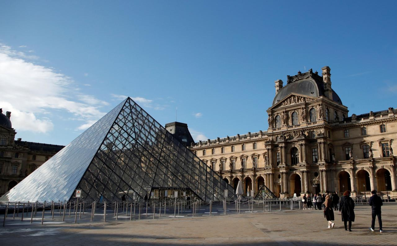 The Louvre museum reopens its doors in Paris as France lifts more restrictions