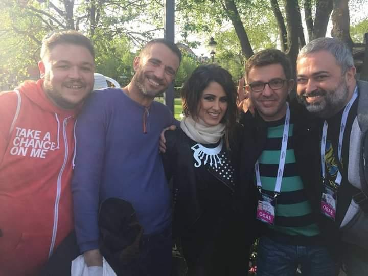 Fans de Eurovisión en Estocolmo 2016