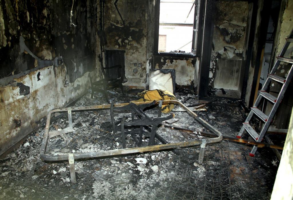 El herido del incendio declarado en el Santuari de Lluc evoluciona favorablemente en Son Espases