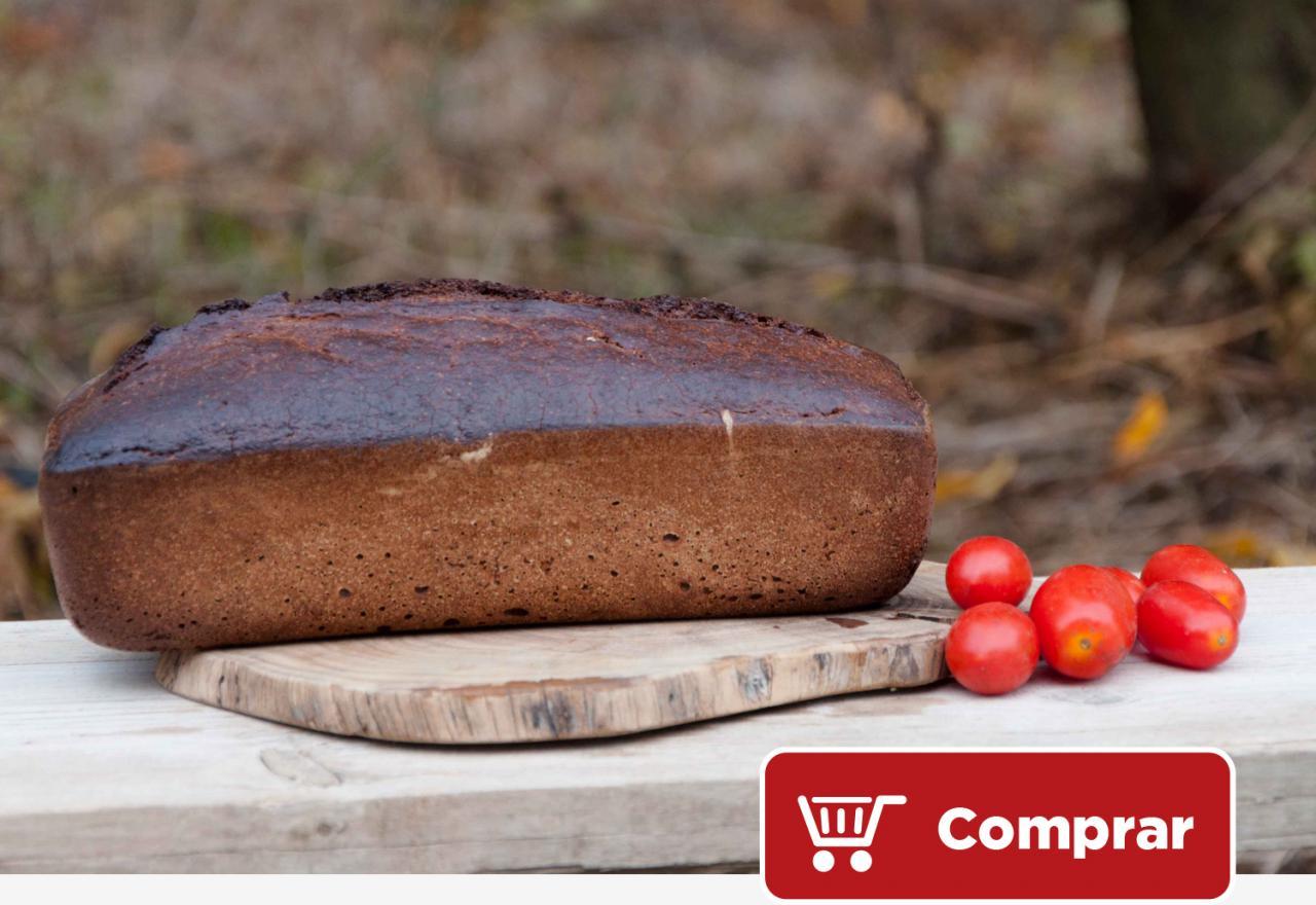 Terragust - Pan artesanal de harina de xeixa y algarroba