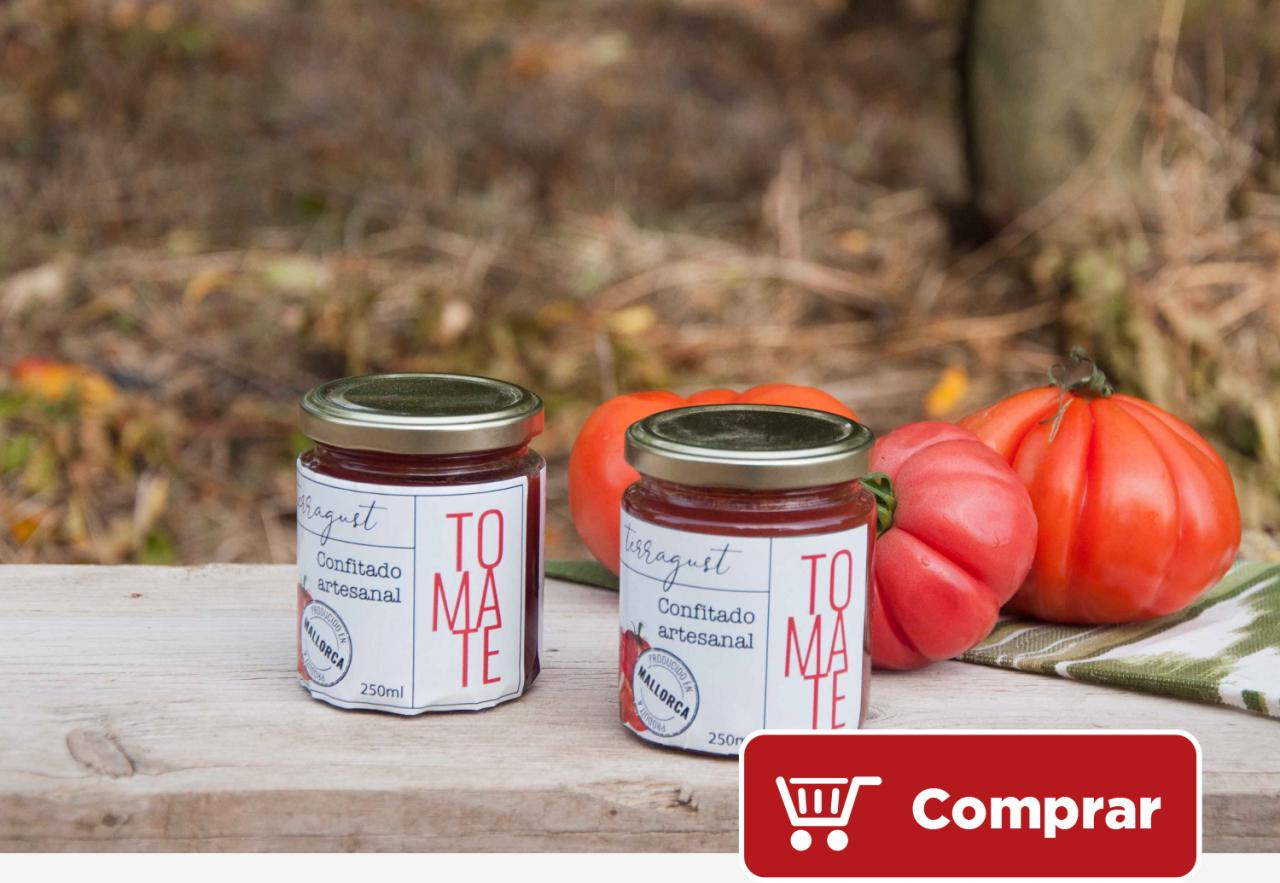 Terragust - Mermelada artesana de tomate