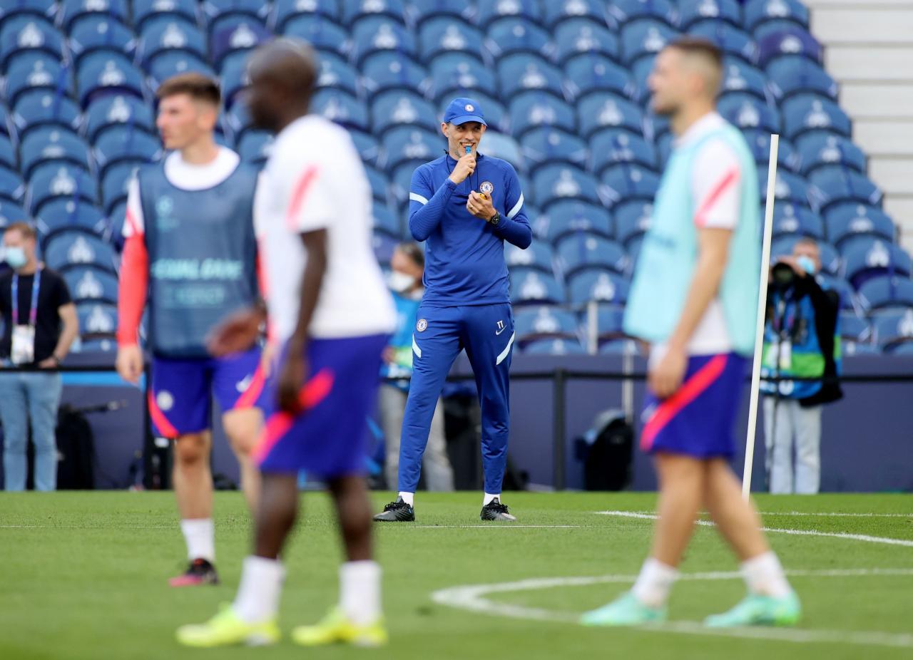 Champions League - Chelsea Training